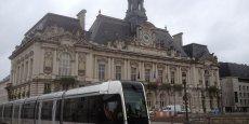 L'hôtel de ville de Tours.