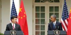 Xi Jinping et Barack Obama se sont rencontrés à Washington.