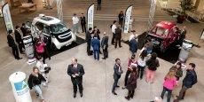 Les véhicules Link&Go et Ampool seront présents sur le stand de la Région Aquitaine lors du congrès ITS, la semaine prochaine à Bordeaux.