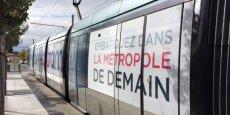 Les rames Connectram (la deuxième entrera en service en novembre) proposent depuis ce matin, et jusqu'au 31 décembre, une immersion en réalité augmentée dans le Bordeaux Euratlantique 2020.