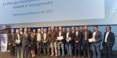Les lauréats et nominés des Prix Galaxie 2015.