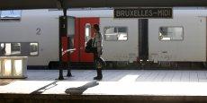 Les trains restaient à l'arrêt suite à une grève ce vendredi 9 octobre à Bruxelles.