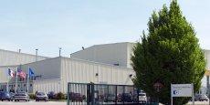 Un des sites de Porcher Industries dans le Nord-Isère.
