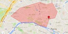 Dans un premier temps, l'offre ne sera effective que dans les 8e et 9e arrondissements de la capitale. Le forfait livraison sera d'abord gratuit avant de passer à trois euros.