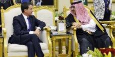 Manuel Valls a annoncé la conclusion de dix milliards d'euros d'accords entre la France et l'Arabie saoudite, et notamment la commande de 30 patrouilleurs rapides.