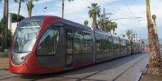 Inauguré en 2012, le tramway de Casablanca sera prolongé en 2018.