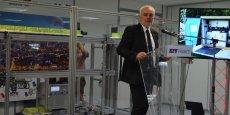 Laurent Demortier, pdg de CG.