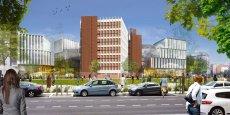 Ce nouvel ensemble immobilier prendra sa place dans la partie sud du quartier de la Part-Dieu près de l'avenue Lacassagne