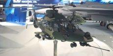 La maquette du Light attack Helicopter (LAH), un programme co-développé et co-produit par KAI et Airbus Helicopters, était l'une des vedettes du salon de Séoul (ADEX)