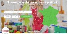 Capture d'écran du site Repasrtage.fr