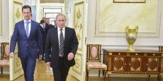 Rencontre Vladimir Poutine-Bachar al Assad, mardi à Moscou.