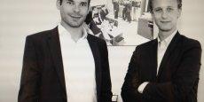 A eux deux, Numa Bourragué (à gauche) et Quentin Molinié, directeurs associés d'eCap Partner, n'ont pas soixante ans.