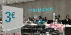 Le magasin Primark de Lyon Part Dieu, ouvert en 2015