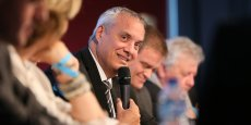 Jean Paoletti, directeur d'ERDF Midi-Pyrénées Sud-Ouest, lors du forum COP21 Toulouse