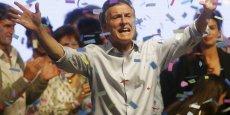 Le retour de l'Argentine est un succès pour le nouveau président Mauricio Macri.