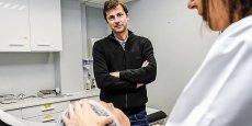 Créé en 2004 par Jérôme Asserin, le laboratoire Cosderma a été incubé au sein du service dermatologie de l'hôpital Saint-André à Bordeaux.