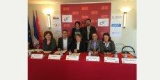 La signature de la convention autour du CEP par les six principaux opérateurs de la formation en Languedoc-Roussillon a eu lieu le 29 octobre à l'Hôtel de Région.