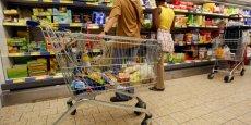 La consommation de produits alimentaires s'est stabilisée après trois mois de baisse.