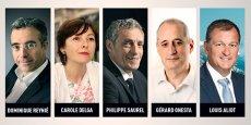 Les 5 candidats réagiront aux interpellations des chefs d'entreprise pour préciser leur vision économique de la grande région