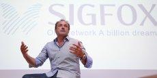 Ludovic Le Moan a cofondé Sigfox en 2010.