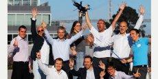 Quelques-uns des créateurs de start-ups sélectionnés pour l'édition 2014