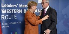 Angela Merkel et Jean-Claude Juncker: le plan ne remet aucunement en cause la discipline budgétaire européenne