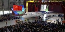 Le nouvel avion chinois, le C919