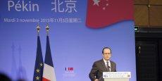 Au cours de cette visite, François Hollande a présenté les réformes engagées par la France et la zone euro ces deux dernières années.  Je vous appelle à faire confiance à l'économie française car nous avons effectué des réformes comme vous faites aussi des réformes dans votre pays , a lancé le président de la République.