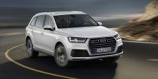 L'Audi Q7 arbore ses traits de design habituels, et se veut à la pointe des technologies sur l'assistance de conduite qui préfigure ce que sera la conduite autonome.