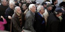 Retraités pauvres en Grèce. C'est l'un des pays où les inégalités ont le plus augmenté, selon Morgan Stanley