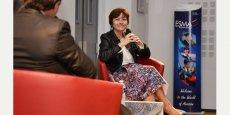 Carole Delga s'exprimait face à une douzaine de patrons et décideurs
