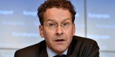 Jeroen Dijsselbloem, président de l'Eurogroupe, a défendu un accord bancal.