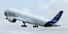La famille des A350 pourrait être élargie afin de concurrencer plus frontalement Boeing.