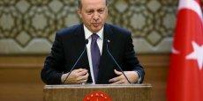 Le président turc Erdogan n'affiche plus de complaisance à l'égard de l'Etat islamique
