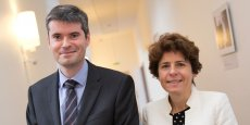 Le secrétaire général de la préfecture Stéphane Daguin et la sous-préfète Michèle Lugrand.