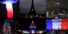 Alors que la Tour Eiffel s'est éteinte, les pays du monde entier, sous le choc ont notamment témoigné leur soutien en éclairant leurs monuments aux couleurs de la France