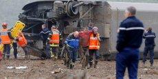 Le TGV d'essai a déraillé pour une raison encore inconnue