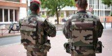 Des soldats dans le centre-ville de Toulouse, en septembre 2015.