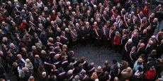 Les élus de tous bords rassemblés hier place du Capitole
