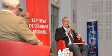 Philippe Saurel a répondu aux questions une dizaine d'acteurs économiques de la région