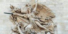 La Marseillaise, scuplture de François Rude sur l'Arc de Triomphe de Paris.