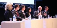 Table ronde Industrie du futur, robotisation, fabrication additive, entreprise libérée : les nouveaux défis de l'aéronautique.
