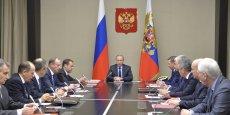 Vladimir Poutine avait qualifié de coup de poignard dans le dos l'abattage d'un bombardier russe par la Turquie.
