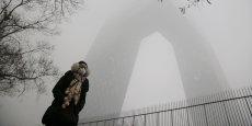 De nombreux pékinois ont ressorti leur masque anti-pollution ces trois derniers jours.