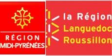 Les logos actuels des deux régions