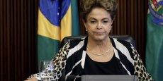 Dilma Rousseff, la présidente brésilienne est mêlée au gigantesque scandale de corruption Petrobras