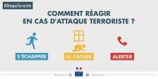 Suite aux attentats du 13 novembre qui ont fait 130 morts et 352 blessés, le gouvernement a lancé une campagne de sensibilisation pour mieux préparer et protéger les citoyens face à la menace terroriste.
