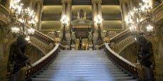 Les salles de spectacles (ici l'opéra Garnier de Paris) vont pouvoir bénéficier d'un fonds d'aide