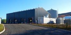 12 M€ ont été investis par Fonroche Biogaz dans cette usine présentée comme la plus importante centrale d'injection de biométhane en France.