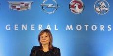 Mary Barra, CEO de General Motors, une ingénieure qui a gravi tous les échelons chez GM, avant d'arriver au sommet en 2014.